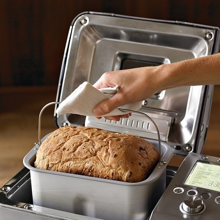 Breville bread maker.