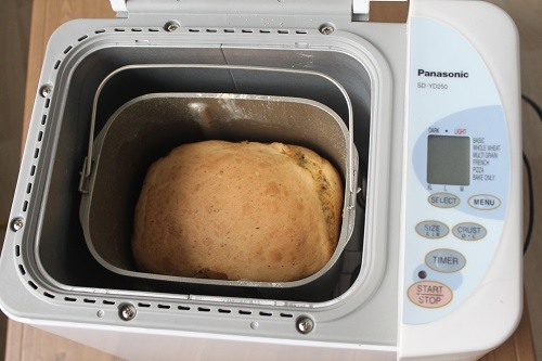 Making Bread In Panasonic Bread Maker