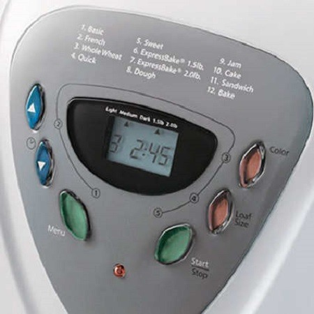 Bread Maker Delay Timer